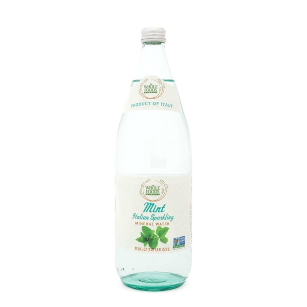 Whole Foods Market Mint Italian Sparkling Mineral Water