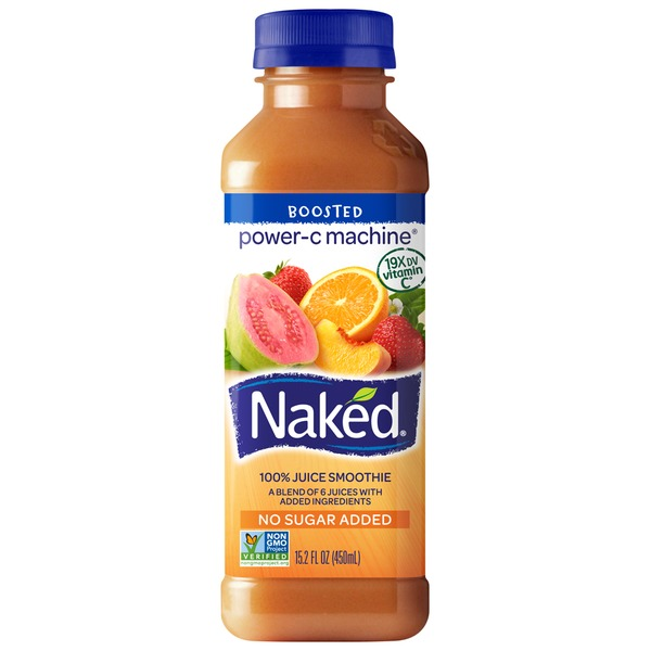Naked Juice Power-C Machine Juice Smoothie