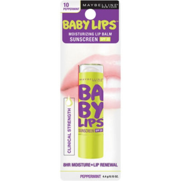 Baby Lips® Peppermint Moisturizing Lip Balm