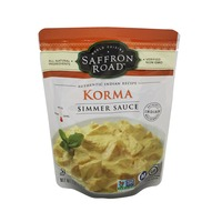Saffron Road World Cuisine Authentic Indian Recipe Coconut Curry Korma Sauce