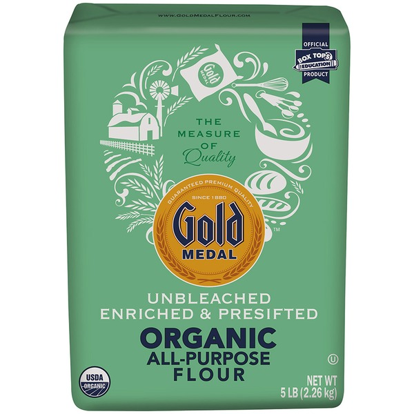 Gold Medal Organic All-Purpose Flour