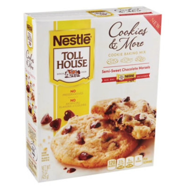 Toll House Cookie Baking Mix with Semi-Sweet Chocolate Morsels Cookies & More