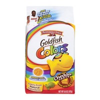 Pepperidge Farm Goldfish Cheddar Colors Baked Snack Crackers