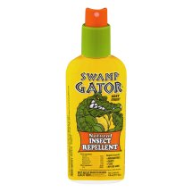 Swamp Gator Natural Mosquito Insect Repellent, 6 oz Deet Free Spray