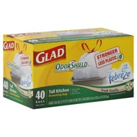 Glad Tall Kitchen Drawstring Bags 13 Gallon