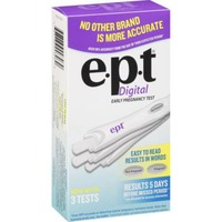 E.P.T. Digital Early Pregnancy Test