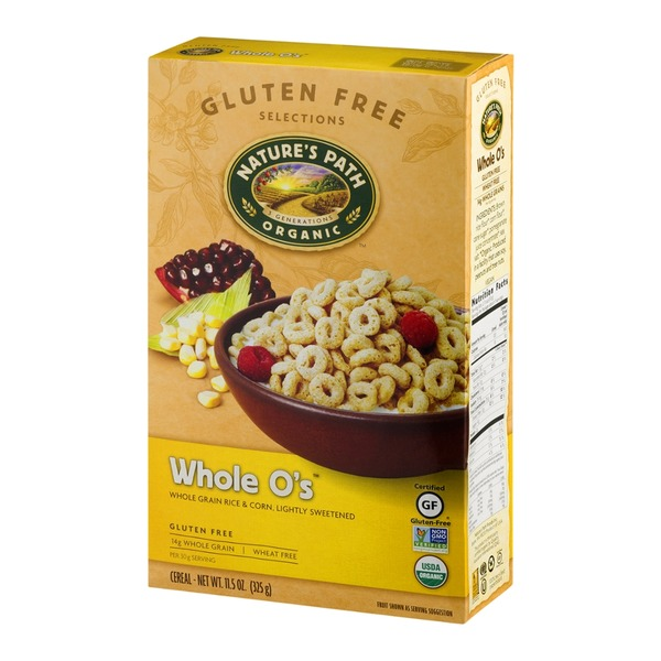 Nature's Path Organic Whole O's Cereal - Gluten Free