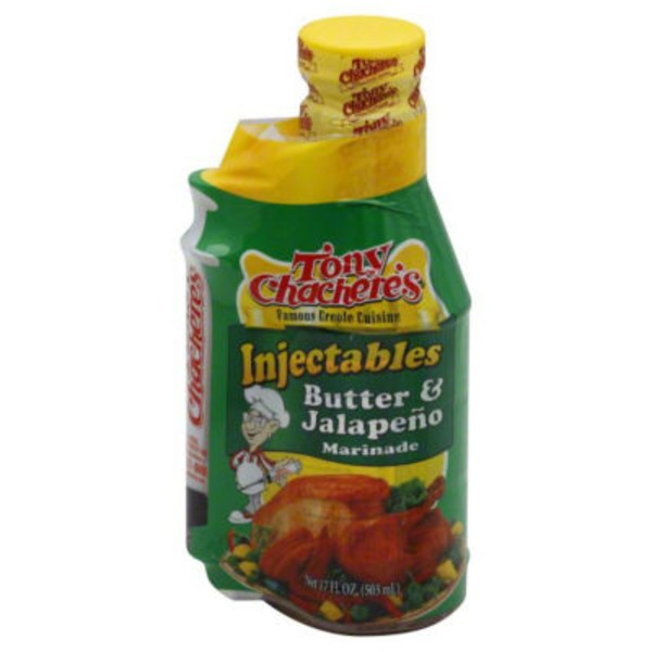 Tony Chachere's Injectables Marinade, Creole Style Butter