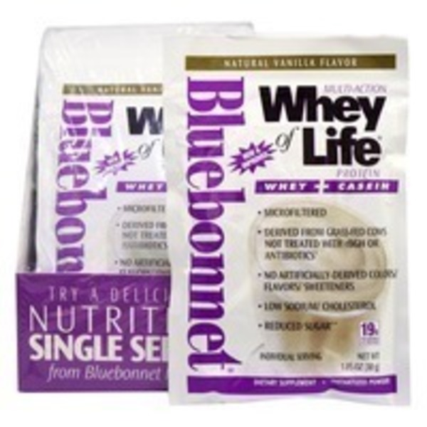 Bluebonnet Nutrition Dual Action Protein Powder