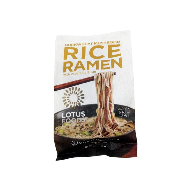 Lotus Foods Buckwheat & Brown Rice Ramen