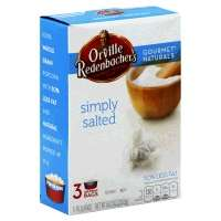 Orville Redenbachers Popcorn Gourmet Naturals Simply Salted - 3