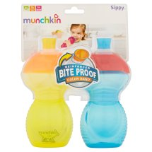 Munchkin Click-Lock Bite Proof Soft Spout Sippy Cup - 2 pack