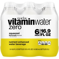 Glaceau Vitaminwater Zero Squeezed Lemonade 16.9 Oz Vitaminwater Zero