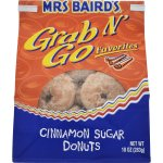 Mrs Baird's Grab N' Go Favorites Cinnamon Sugar Donuts, 10 oz