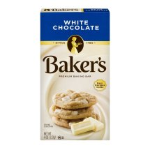 Baker's Premium White Chocolate Baking Chocolate Bar, 4 Oz