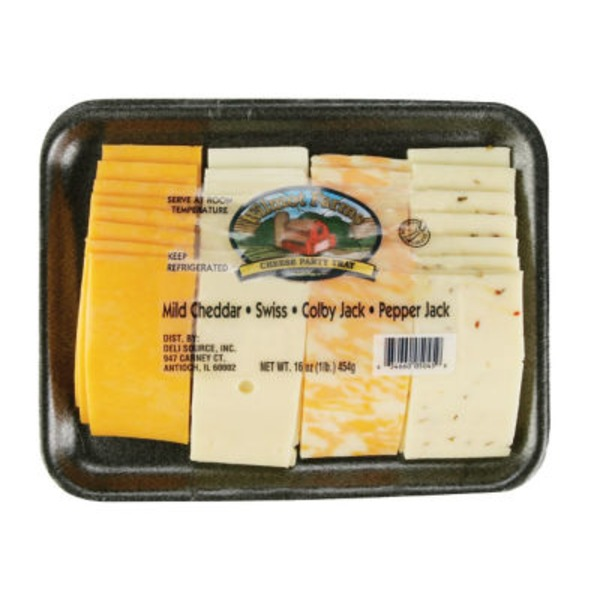 Wilmot Farms Mixed Cheese Slices Tray