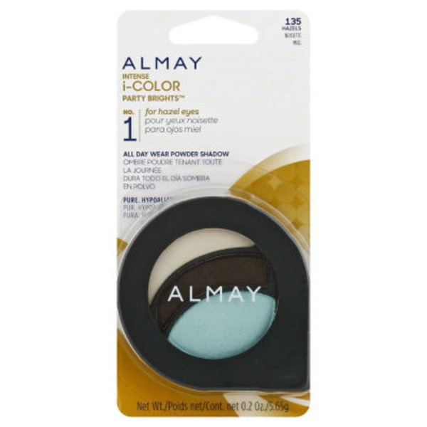 Almay Intense i-color Eyeshadow  - Party Brights for Hazel Eyes .2oz 135