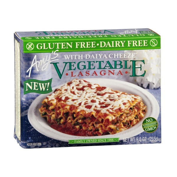 Amy's Vegetable Lasagna with Daiya Cheeze