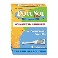 DocuSol Mini-Enema, Kids