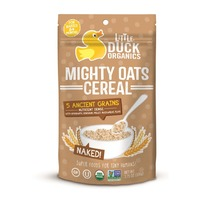 Little Duck Organics Cereal, Might Oats, Naked!, For Babies 6+ Months
