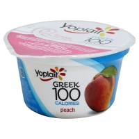 Yoplait Greek Yogurt 100 Calorie Peach