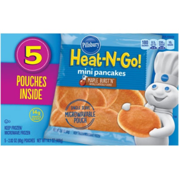Pillsbury Heat-N-Go! Maple Burst'n Mini Pancakes