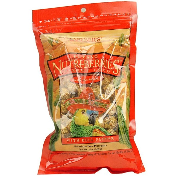 Lafeber's El Paso Nutri Berries With Bell Peppers Parrot Food
