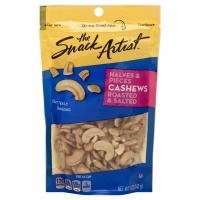 The Snack Artist Nuts Cashews Halves & Pieces