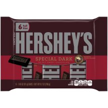 Hershey's Chocolate Special Dark Mildly Sweet, 8.7 Oz