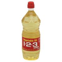 1-2-3 Vegetable Oil