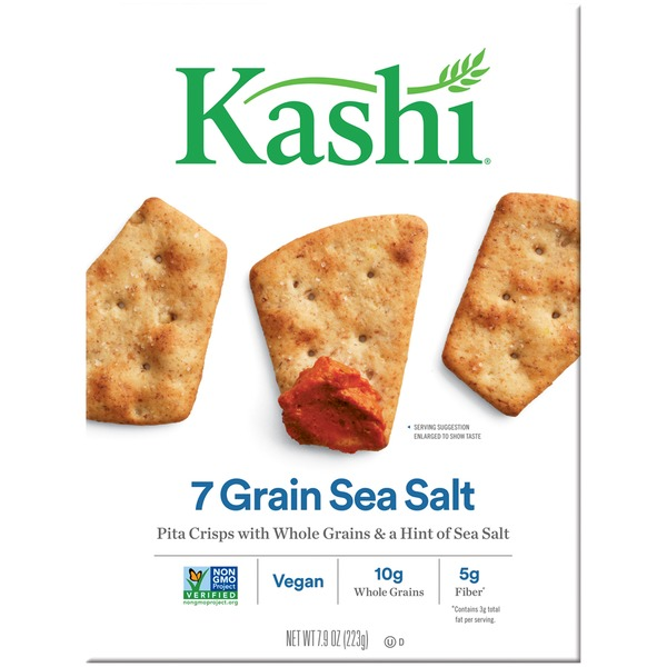 Kashi 7 Grain Sea Salt Pita Crisps