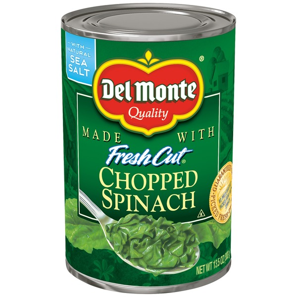 Del Monte Fresh Cut Chopped Spinach