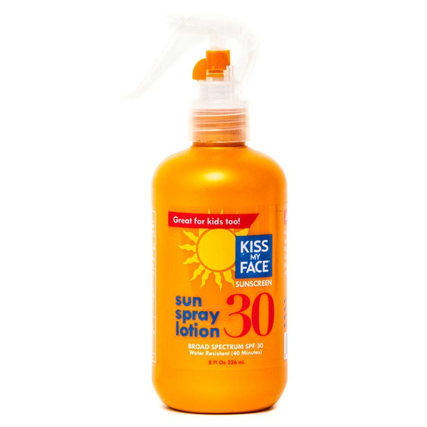 Kiss My Face Sunscreen Sun Spray Lotion - SPF 30