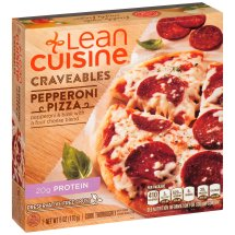 LEAN CUISINE Craveables Pepperoni Pizza 6 oz Box