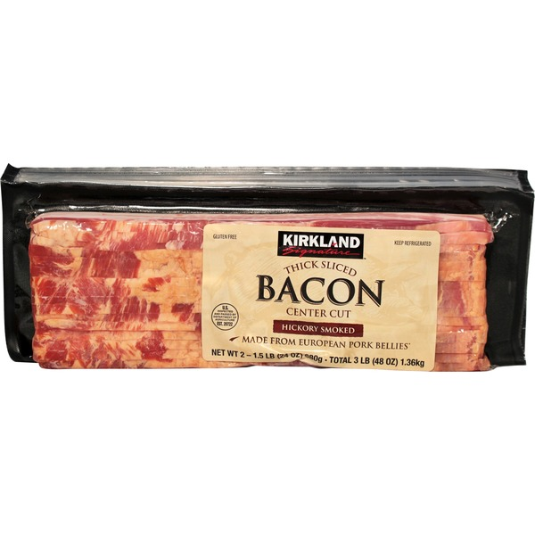 Kirkland Signature Thick Sliced Danish Bacon