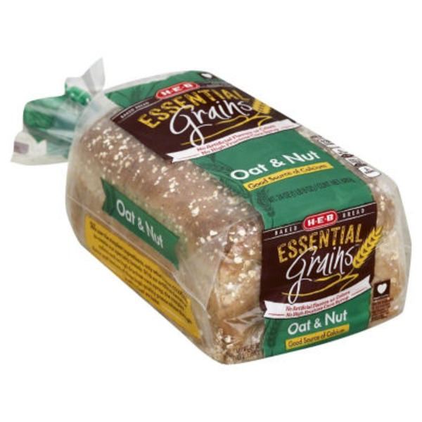 H-E-B Oat And Nut Bread Loaf