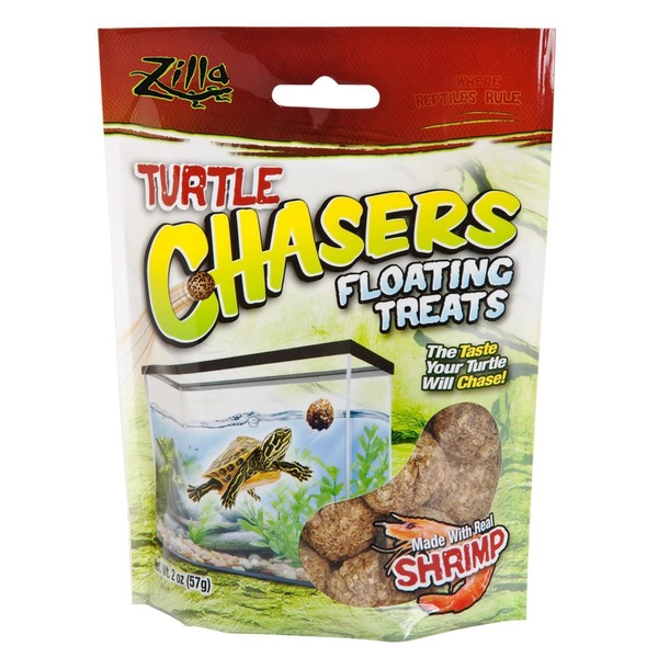 Zilla Shrimp Turtle Chasers Aquatic Turtle Treats 2 Oz.