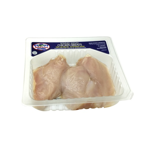 Meat Boneless Skinless Split Chicken Breast
