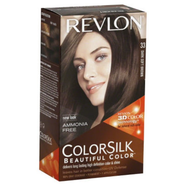 Revlon ColorSilk Hair Color - Dark Soft Brown
