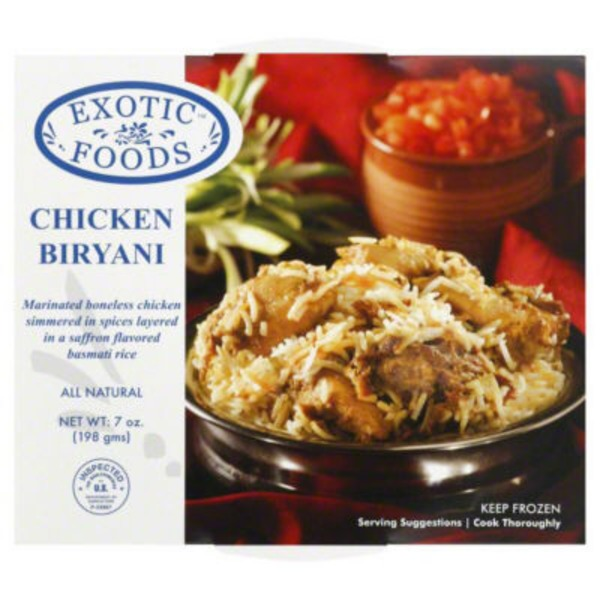 Exotic Foods Chicken Biryani