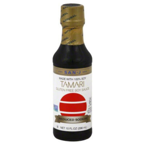 San-J Tamari Gluten Free Soy Sauce Reduced Sodium