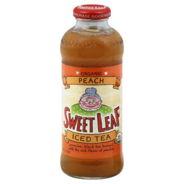 Sweet Leaf Tea Co Peach Iced Tea