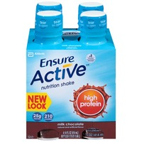 Ensure Plus Active High Protein Milk Chocolate Nutrition Shake