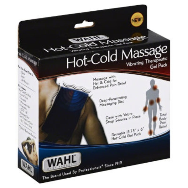 Wahl Hot-Cold Massage Vibrating Therapeutic Gel Pack
