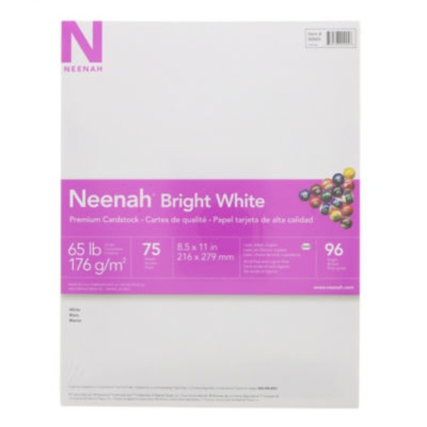 Neenah Bright White Card Stock