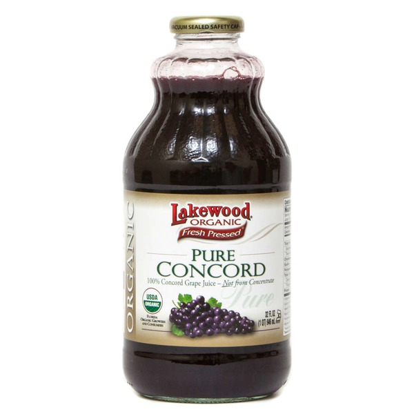 Lakewood Organic Organic Pure Concord Grape Juice
