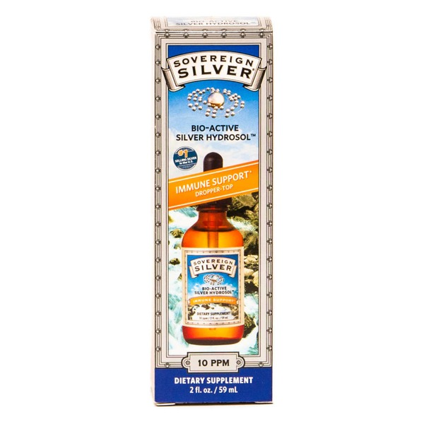 Sovereign Silver Bio-Active Silver Hydrosol 10 ppm Dietary Supplement