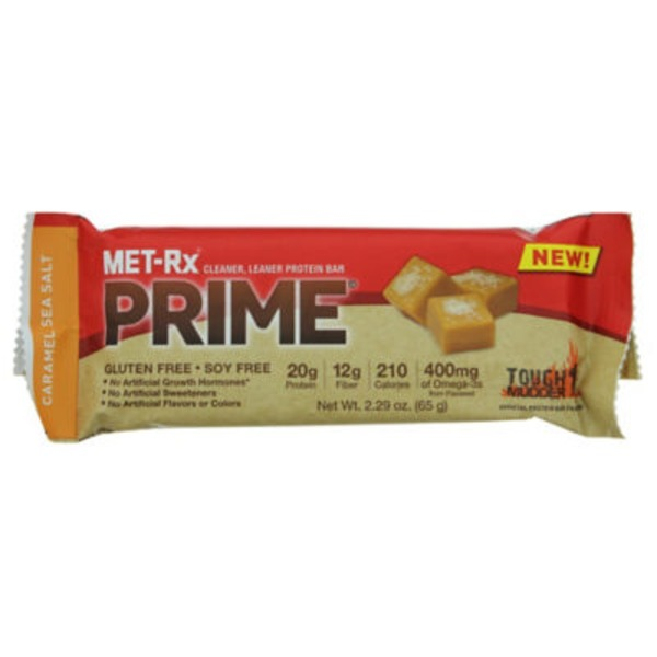 MET-Rx Prime Food Bar Caramel Sea Salt