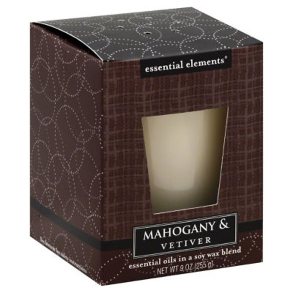 Candle Lite Mahogany & Vetiver Candle