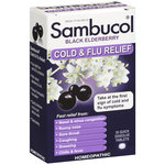 Sambucol Black Elderberry Cold & Flu Relief Quick Dissolve Tablets